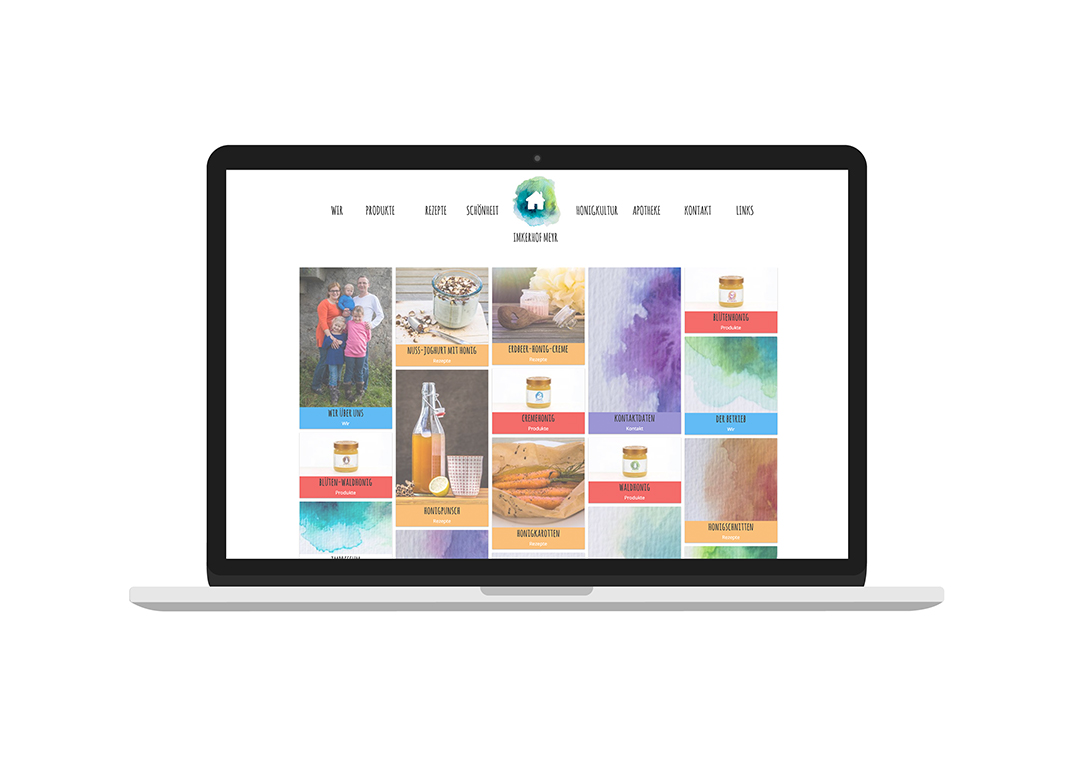 Imkerhof Meyr Website